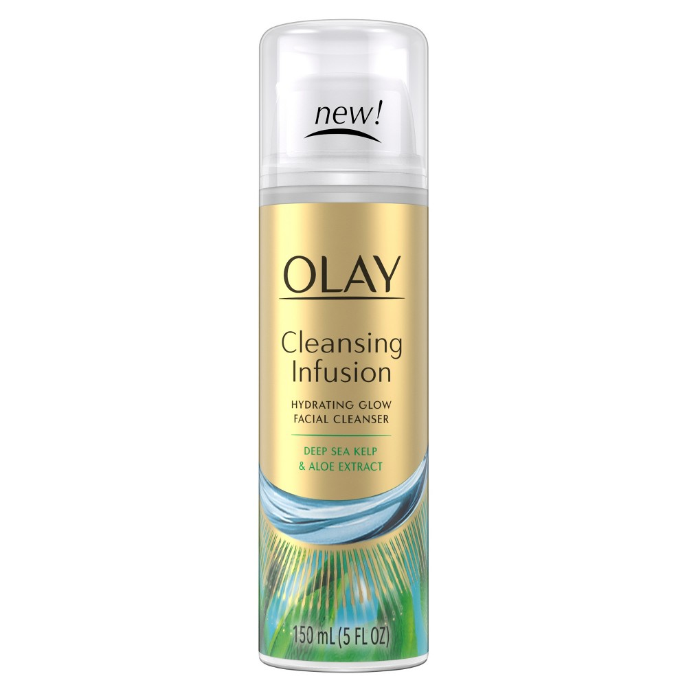 Olay Cleansing Infusion Facial Cleanser with Deep Sea Kelp - 5oz