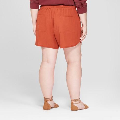 150ff42b76c52 Women s Plus Size Pull-On Shorts - Universal Thread   Target