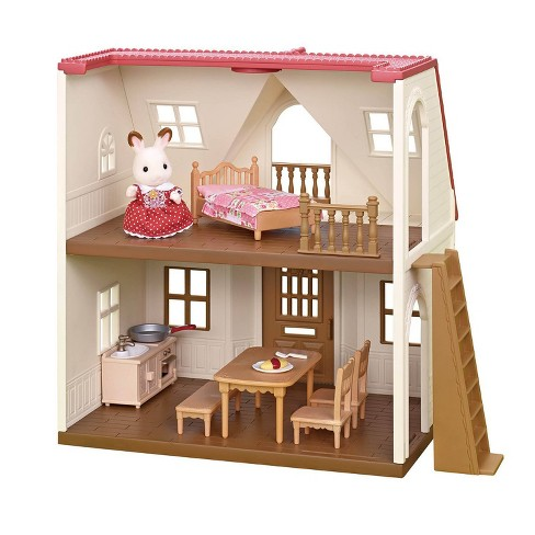 Calico Critters Red Roof Cozy Cottage - image 1 of 4