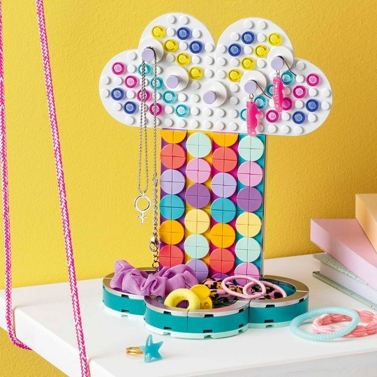 LEGO DOTS Rainbow Jewelry Stand Cool DIY Craft Decorations Toy Kit 41905 image number null