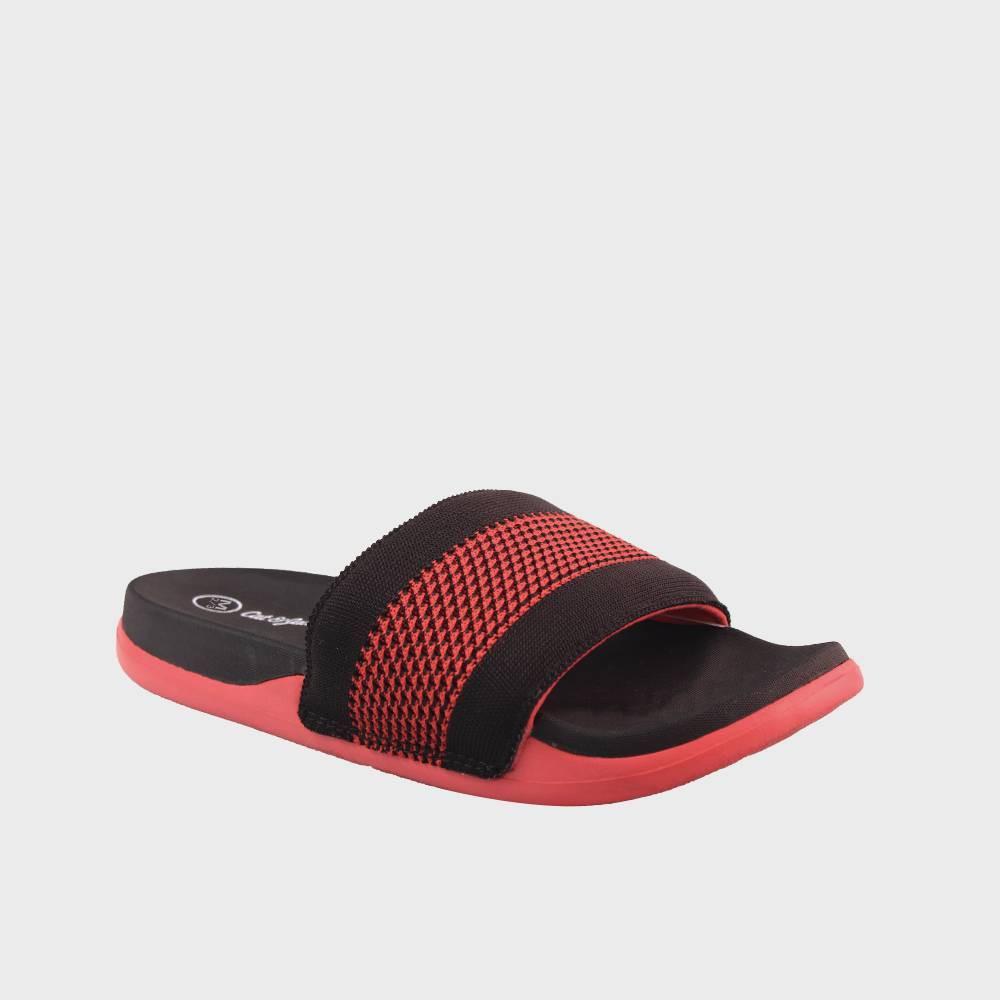 Image of Boys' Aaidan Slide Sandals - Cat & Jack Red L, Toddler Boy's, Size: Large
