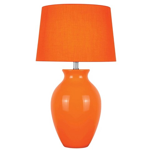 Lite Source Maya 1 Light Table Lamp - Orange - image 1 of 2
