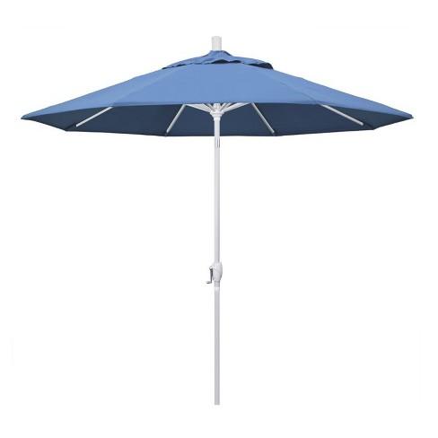 9' Patio Umbrella in Forest Blue - California Umbrella - image 1 of 2