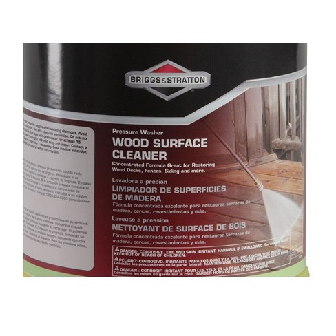 Briggs & Stratton 6827 Wood Surface Cleaner Fluid for Pressure Washers, 1 Gal - image 1 of 4