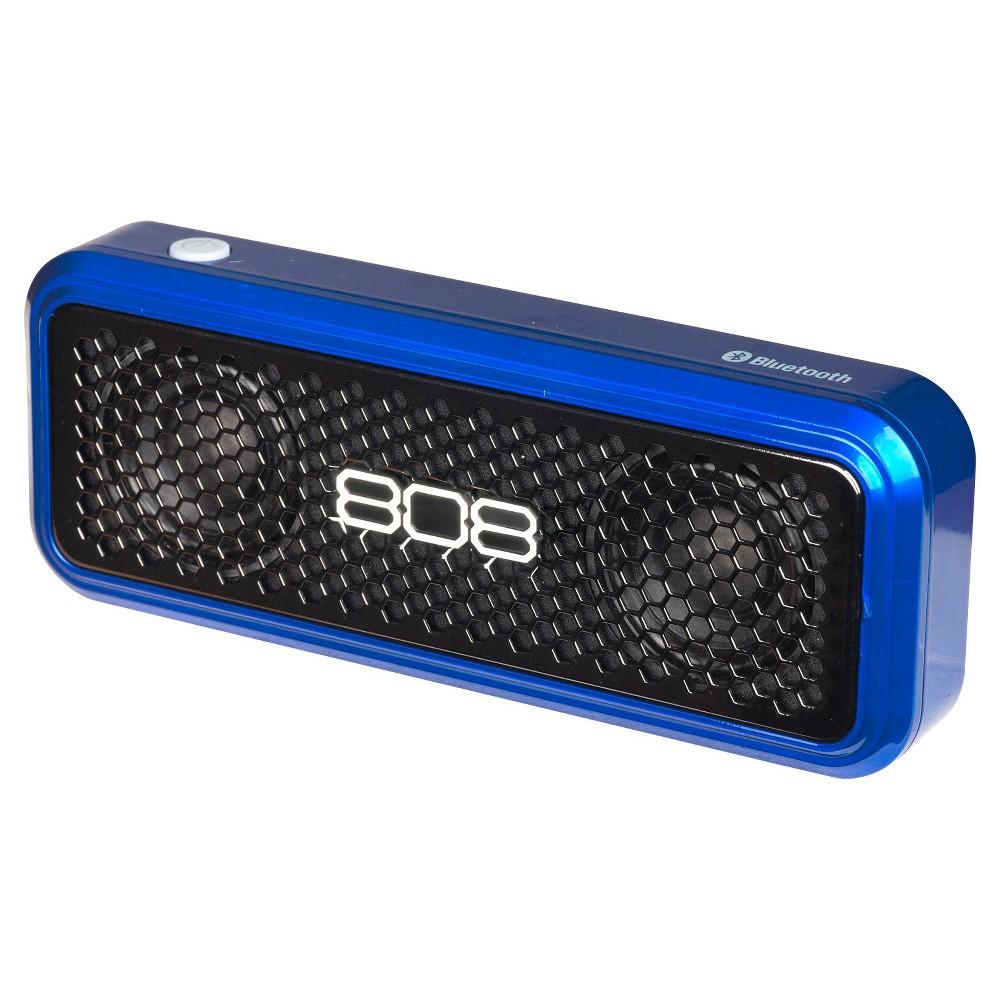 808 XS Wireless Bluetooth Speaker - Blue (SP260BL)
