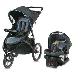Graco FastAction Jogger LX Travel System - Cielo
