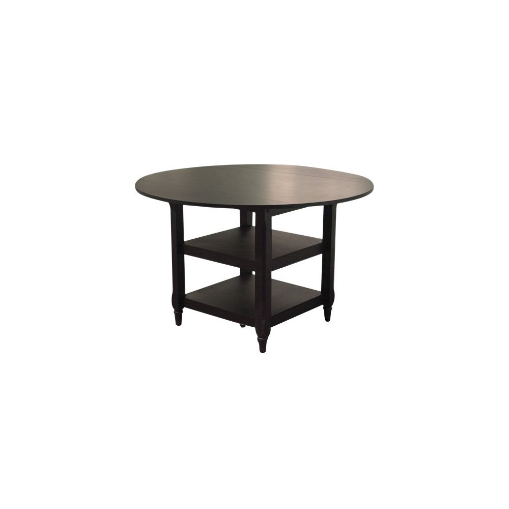 Dining Table Wood/Black - Tms