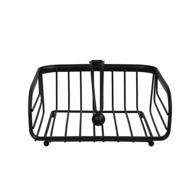 Spectrum Ashley Weighted Napkin Holder - Black