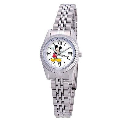Women's Disney Mickey Mouse Status Watch - Silver