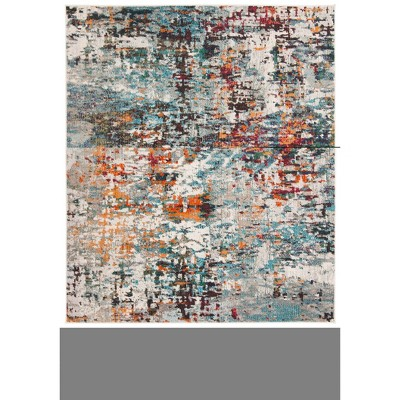 4'x6' India Rug Gray/Blue - Safavieh
