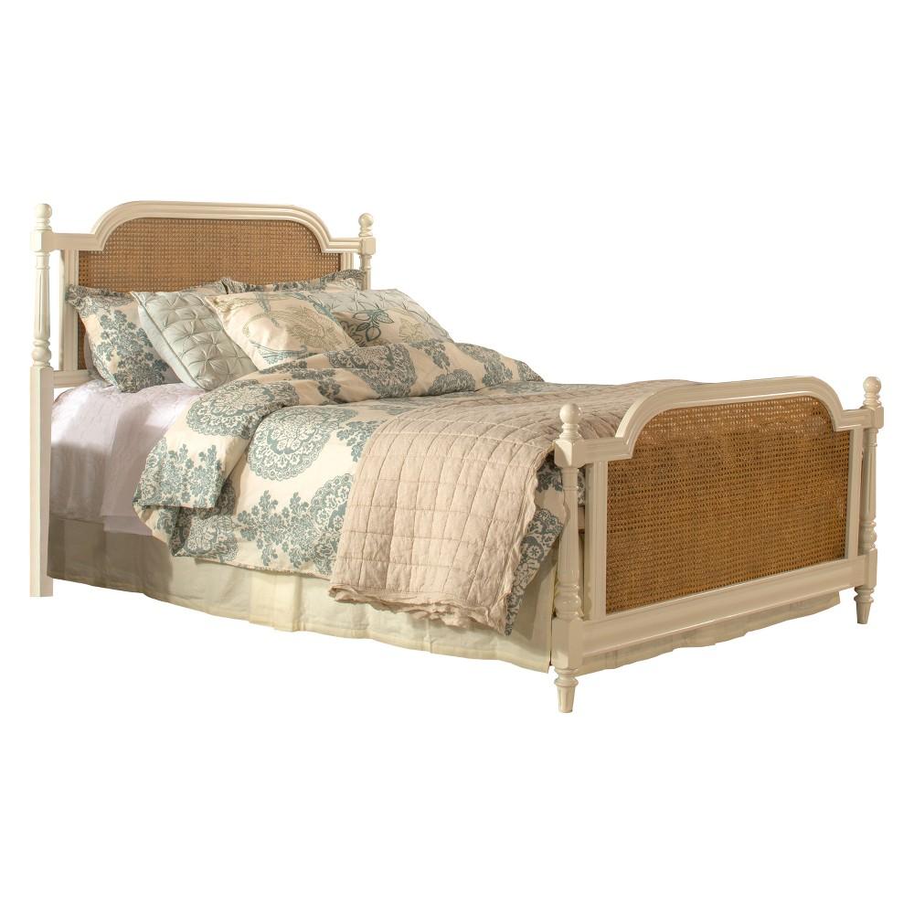 Melanie Wood Bed Set King White - Hillsdale Furniture