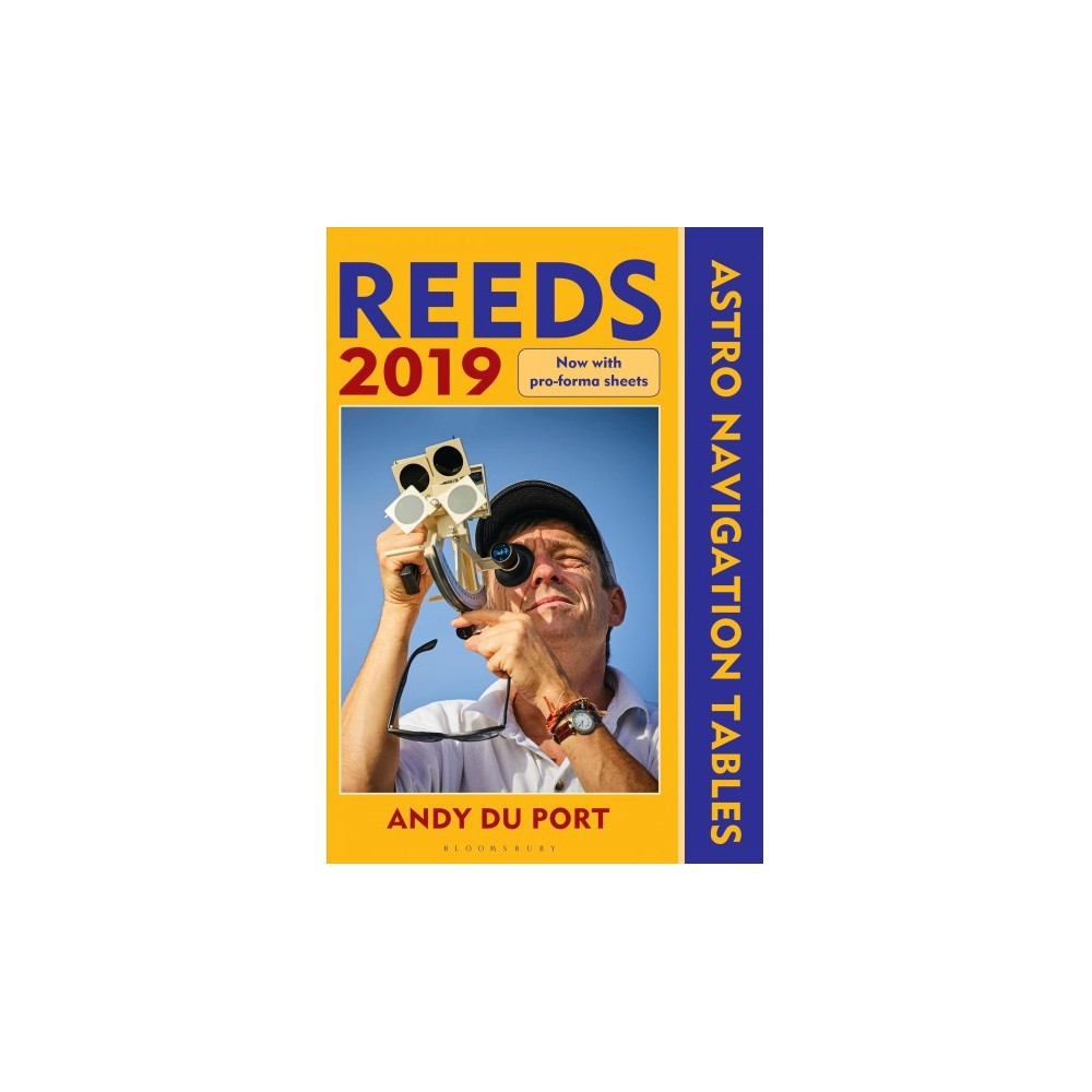 Reeds Astro Navigation Tables 2019 - by Andy Du Port (Paperback)