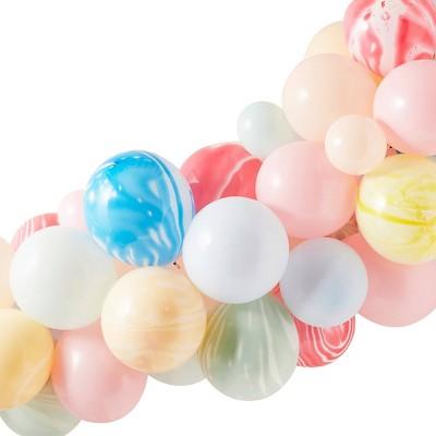 Balloon Arch Pastels/Tie Dye