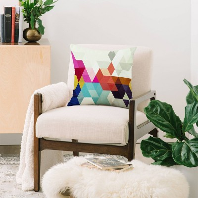 Three Of The Possessed Modele Square Throw Pillow - Deny Designs : Target