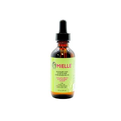 Mielle Rosemary Mint Scalp & Hair Strengthening Oil - 2 fl oz