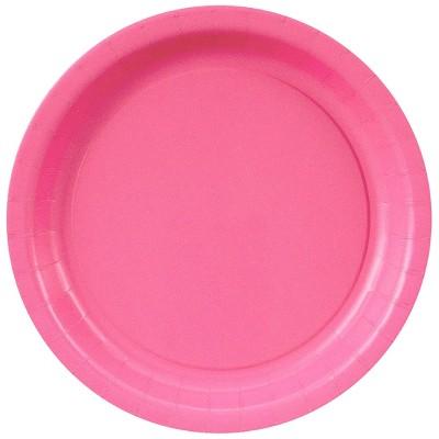48ct Hot Pink Dessert Plate