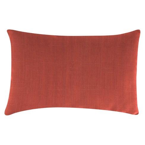 c11b62075d6 Outdoor Throw Pillow Set Jordan Manufacturing Dark Salmon   Target