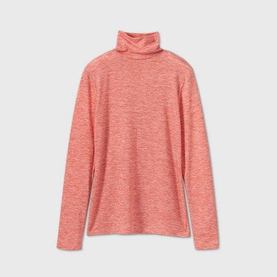 Women's Long Sleeve Turtleneck Cozy T-Shirt - A New Day™