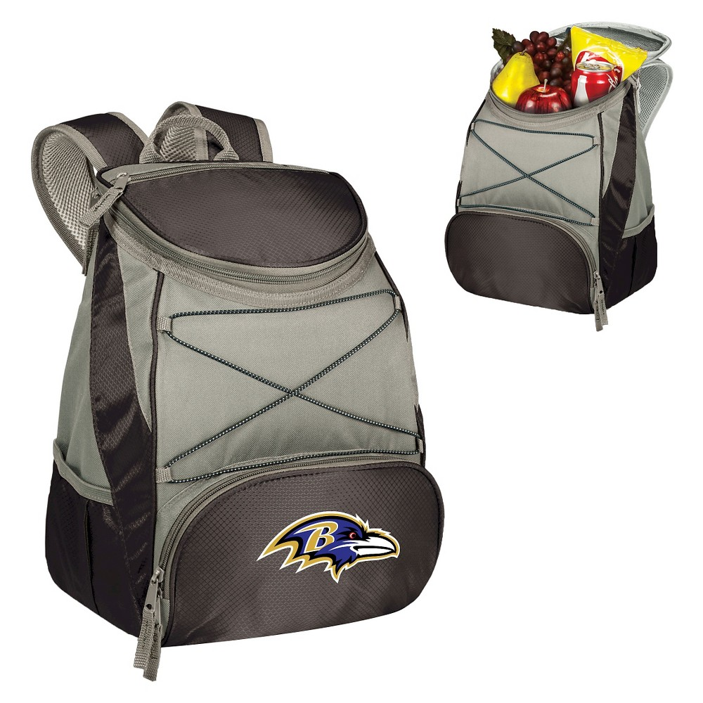 Baltimore Ravens Ptx Backpack Cooler By Picnic Time
