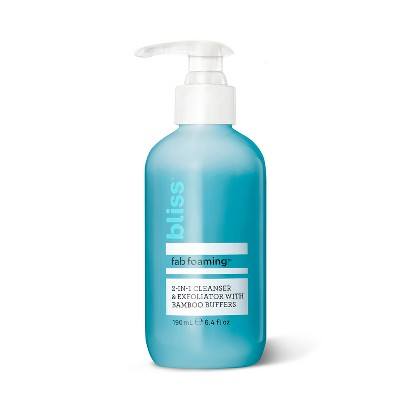view Bliss Fab Foaming Oil-Free Gel Cleanser - 6.4 fl oz on target.com. Opens in a new tab.