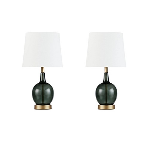 2pc Summit Table Lamp Green (Lamp Only) - image 1 of 4