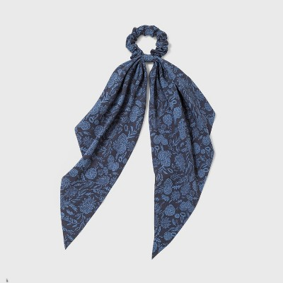 Floral Print Tail Twister - Universal Thread™ Blue