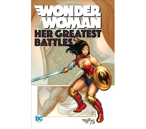 Wonder Woman : Her Greatest Battles (Paperback) - image 1 of 1