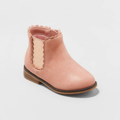 Toddler Girls' Ashley Fashion Boots - Cat & Jack™ Pink 5