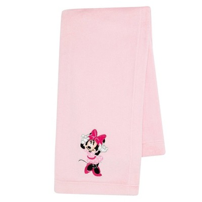 Lambs & Ivy Minnie Mouse Love Baby Blanket