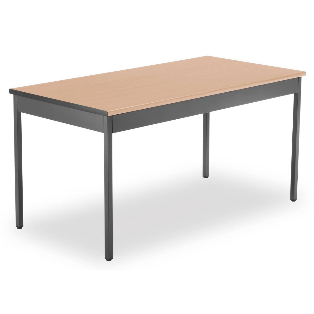 """Image of """"30"""""""" X 60"""""""" Multi-Purpose Utility Table Maple - OFM, Brown"""""""