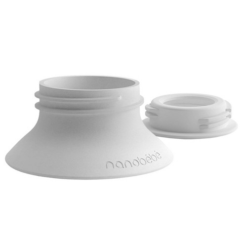 Nanobebe Standard Neck 2pk Breast Pump Adapter - image 1 of 4
