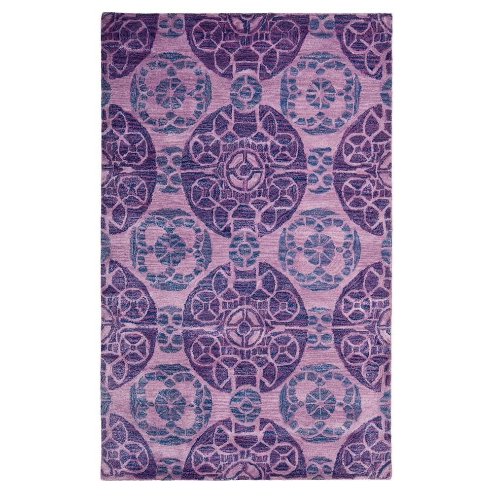 Jermayne Area Rug - Purple (4'x6') - Safavieh