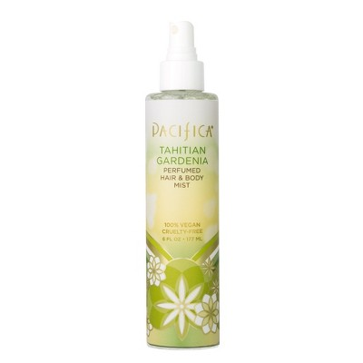 Tahitian Gardenia by Pacifica Perfumed Hair & Body Mist Women's Body Spray - 6 fl oz