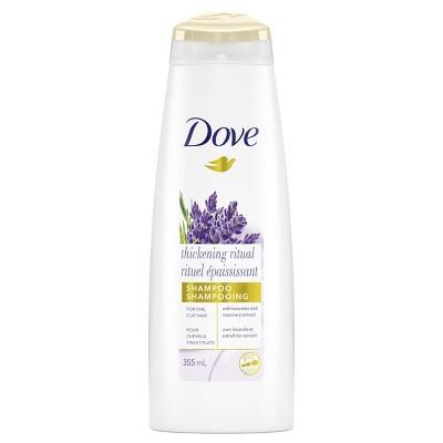 Dove Nourishing Secrets Volume Shampoo for Thinning Hair Thickening Ritual - 12 fl oz