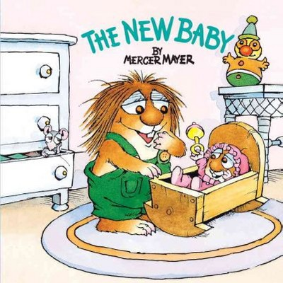 The New Baby (Little Critter)- (Golden Look-Look Books)by Mercer Mayer (Paperback)