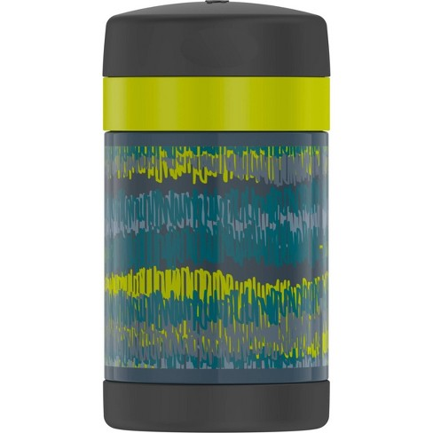 Thermos 16oz iKat FUNtainer Food Jar - Black/Green - image 1 of 4