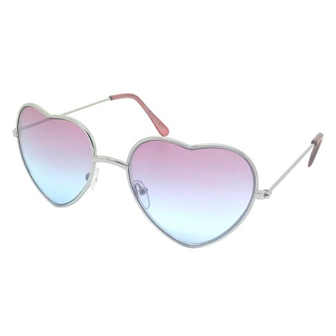 a0090d170815 Girls' Hearts Sunglasses - Cat & Jack™ Pink One Size : Target