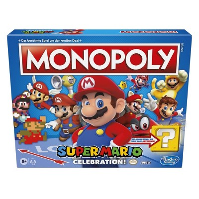 Monopoly Super Mario Celebration Edition Board Game