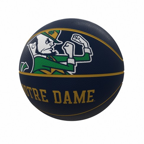 NCAA Notre Dame Fighting Irish Mascot Official-Size Rubber Basketball - image 1 of 1