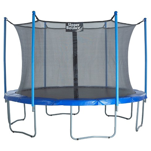 "Upper Bounce® 15' Trampoline and Enclosure Set equipped with the New ""Easy Assemble Feature"" - image 1 of 5"