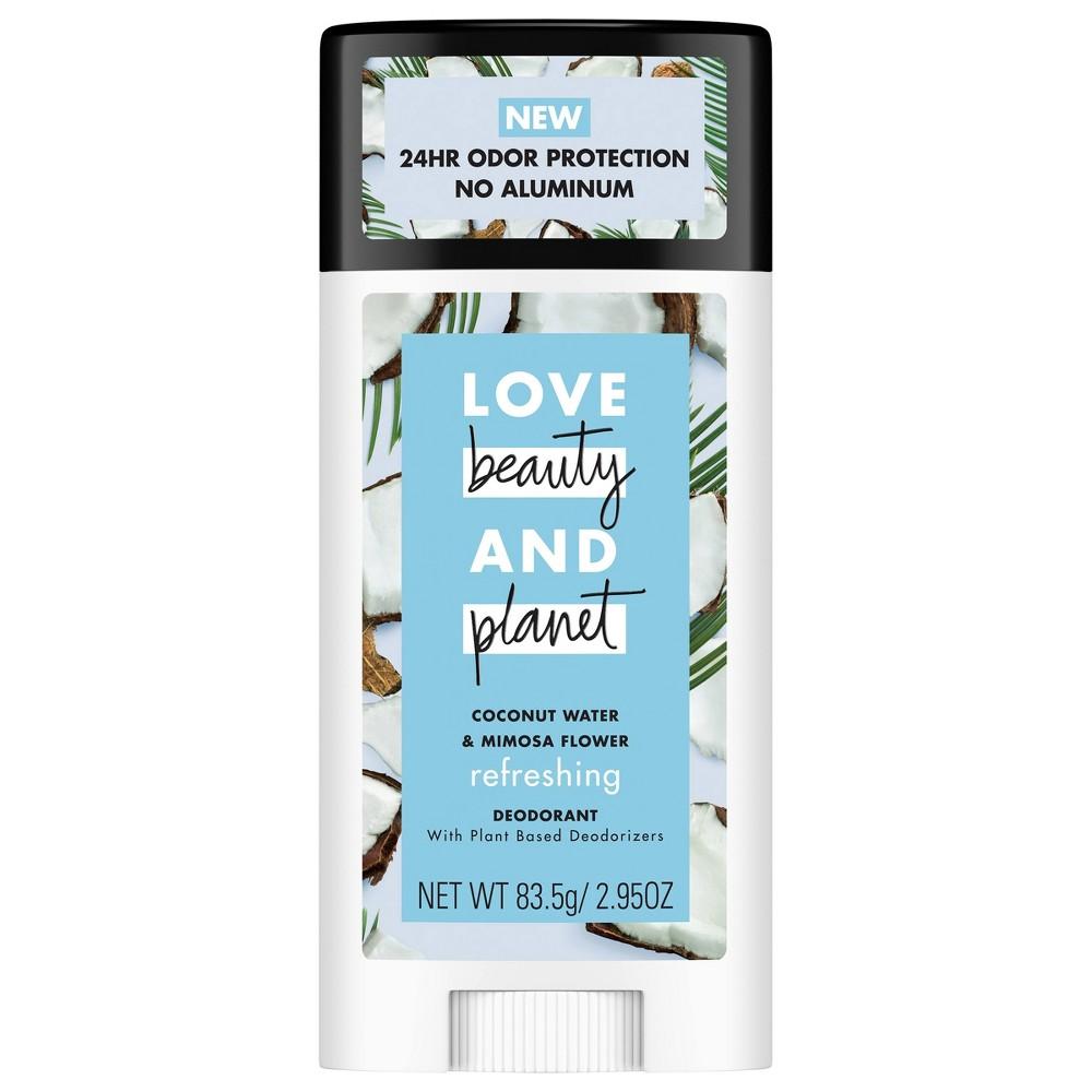 Love Beauty Planet Refreshing Coconut Water Deodorant - 2.95oz