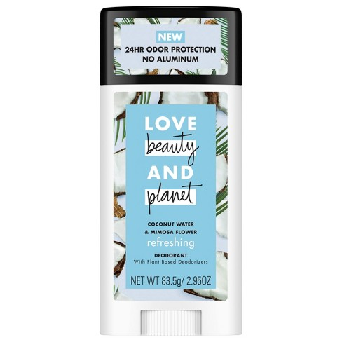 Love Beauty Planet Refreshing Coconut Water Deodorant - 2.95oz - image 1 of 4