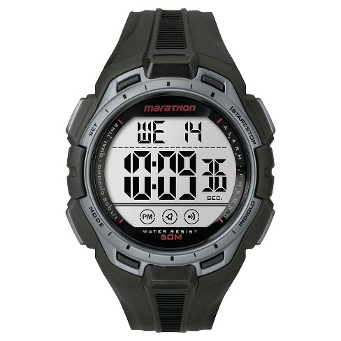 Men's Marathon ®  by Timex Digital Watch - Black TW5K94600M6 - image 1 of 1