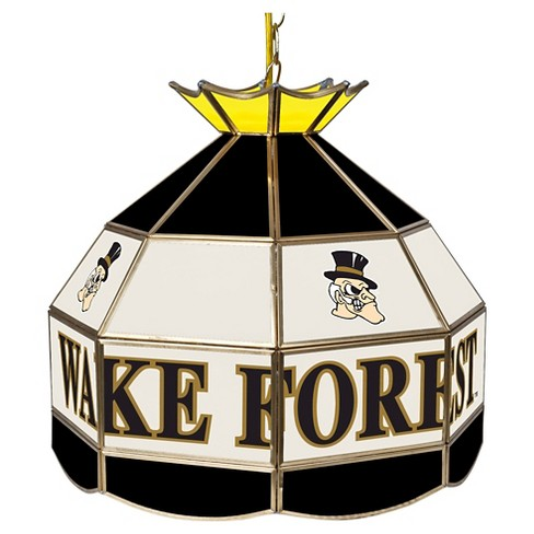 "NCAA Wake Forest Demon Deacons Stained Glass Tiffany Lamp - 16"" - image 1 of 1"
