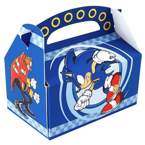 8 Ct Sonic The Hedgehog Favor Boxes Target