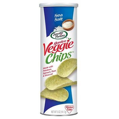Sensible Portions Sea Salt Garden Veggie Chips - 5oz