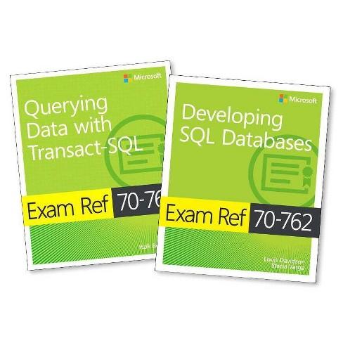 MCSA SQL Server 2016 Database Development Exam Ref 2-Pack - (Mixed media product) - image 1 of 1