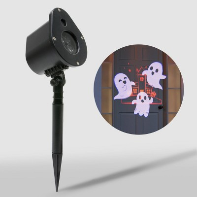 Philips LED Orange/White Haunted House with Dancing Ghosts Projector Halloween Special Effects Light