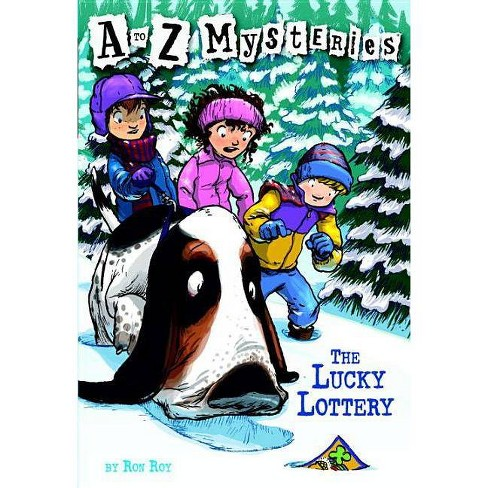 Lucky Lottery - (A to Z Mysteries) by  Ron Roy (Paperback) - image 1 of 1