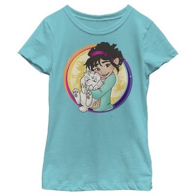 Girl's Over the Moon Fei Fei & Bungee Frame T-Shirt